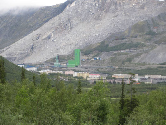 Kirowsk eine Bergbau-Stadt