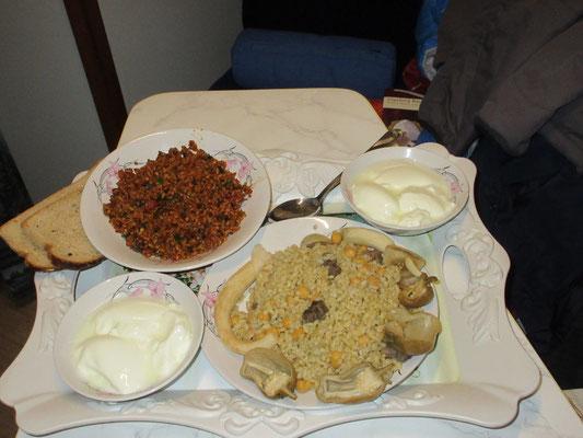 Spontan erhaltenes Nachtessen in Adiyaman