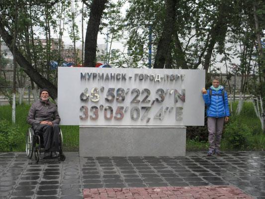 Wir sind in Murmansk