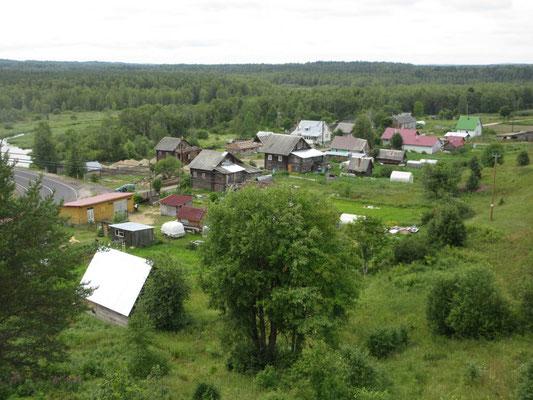Vepsisches Dorf