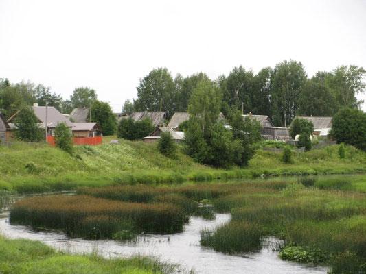 Karelisches Dorf