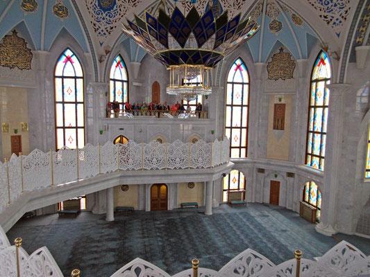Gebetsraum der Moschee von Kasan