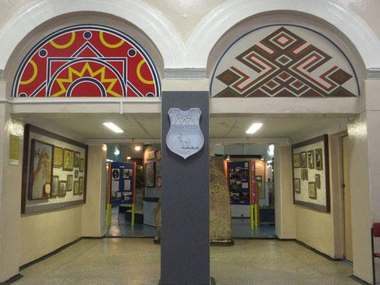 Das Samenmuseum in der Russischen Samenhauptstadt Lovozero