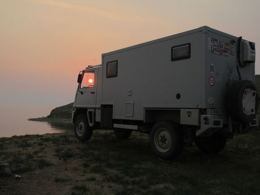 Abendstimmung am Baikalsee