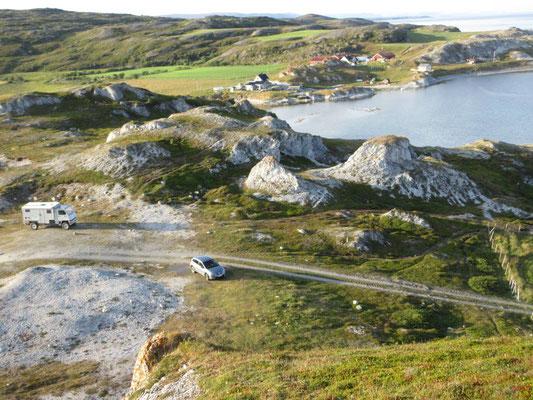 Solche Stellplätze sind in Norwegen noch frei zugänglich