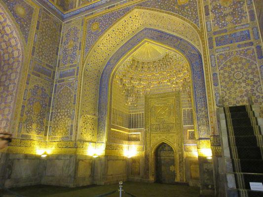 Die goldene Moschee in Samarkand