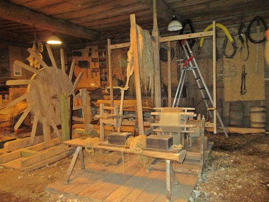 Das Museum zeigt viel über Flachsanbau