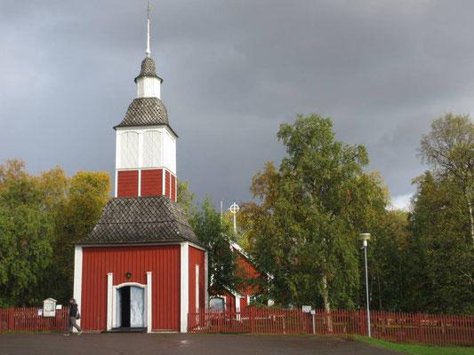 Samenkirche in Jukkasjärvi