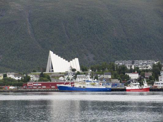 Die Eismeerkathedrale von Tromsö
