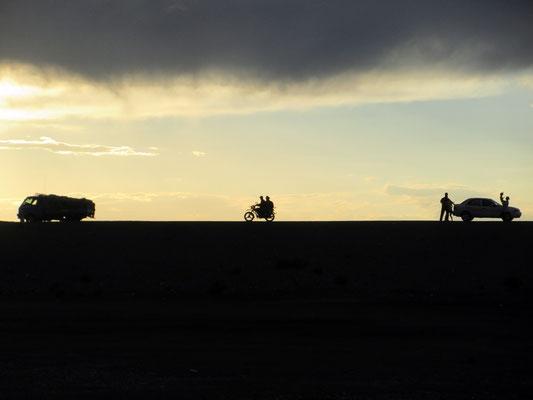 Zurück aus der einsamen Wüste Gobi in Arvaikheer