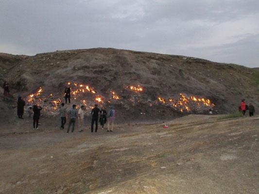 Die Flammen von Tashkuh