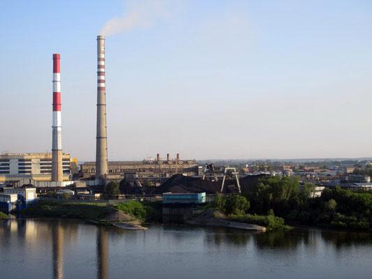 Es wird heute noch Kohle gefördert in Kemerovo