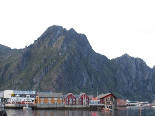 Wir sind eine Station südlich gefahren bis Svolvaer auf den Lofoten