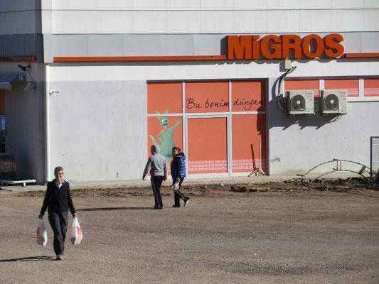 Manchmal ist es einfacher in der Migros einzukaufen, auch in der Türkei möglich