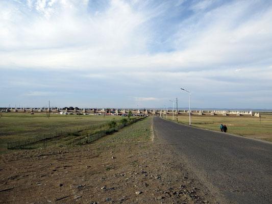 Die Klosteranlage von Erdene Zuu in Kharkhorin