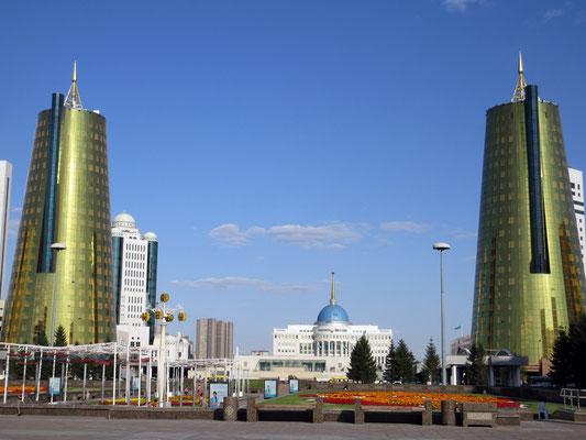 Astana lebt im Zentrum vom Gigantismus