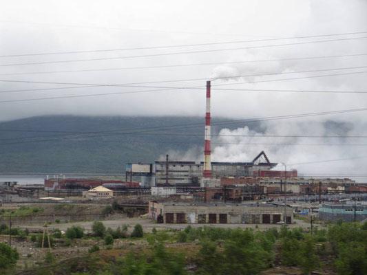 Noch mehr Bergbau auf dem Weg nach Norden