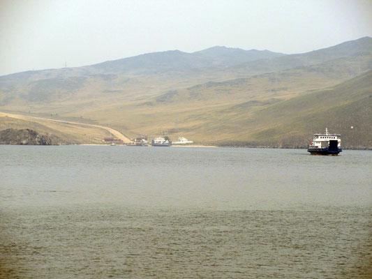 Die Fähren zur Insel Olchon auf dem Baikalsee sind gratis