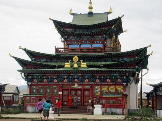 Tempel von Ivolginskij