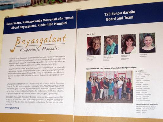 Was die vier Frauen mit Spendengeldern aus der Schweiz zustande bringen bei der Kindertagesstätte Bajasgalant, ist sehr beeindruckend