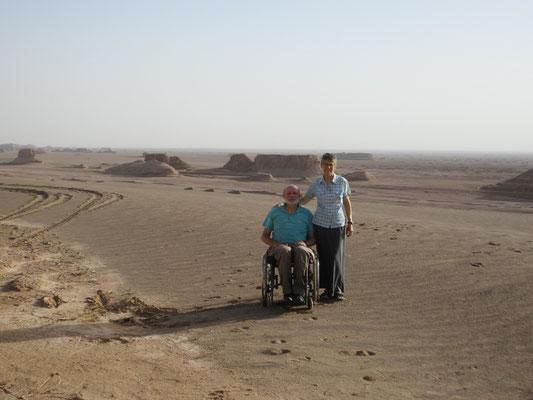 Unser Abenteuer, in der Wüste Lut