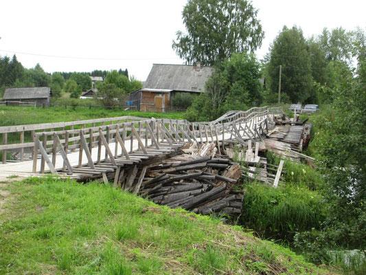 Nicht einmal die Einheimischen nutzen diese Brücke mit dem Auto