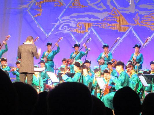 Das Mongolische Philharmonieorchester hat internationales Niveau