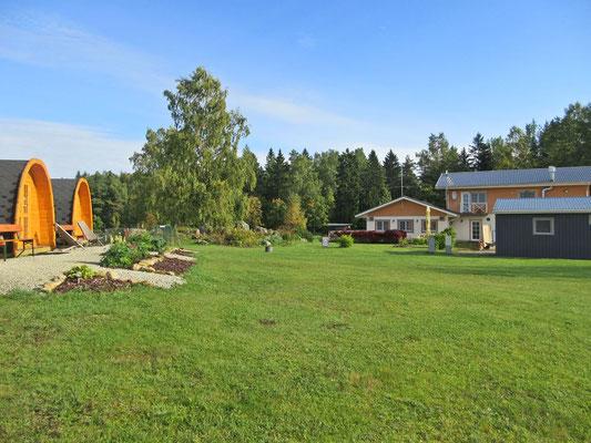 Camping in Palmse, Estland