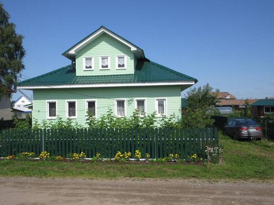 In einem Dorf Nähe Arkhangelsk