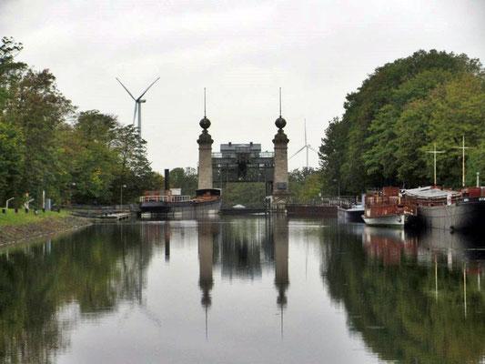 Oberer Kanal zum Hebewerk Henrichenburg