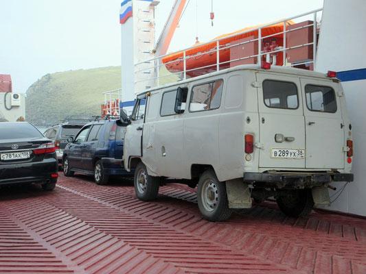 Diese russischen Minibusse sind unverwüstlich