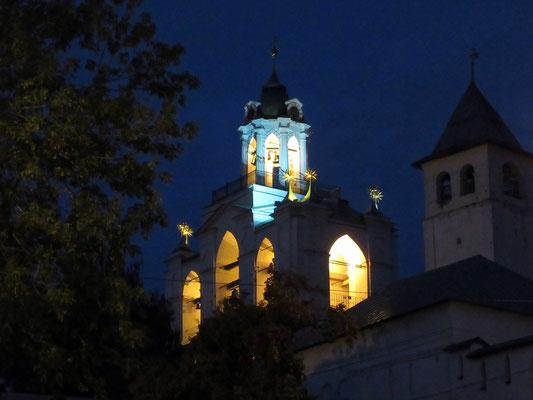 Glockenturm des Christi Verklärungsklosters in Jaroslawl