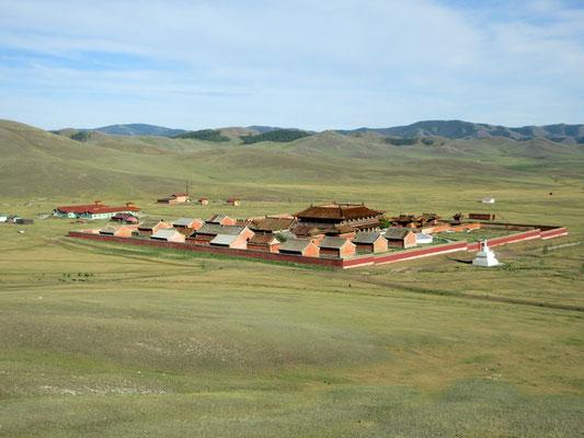 Amarbayansgalant das zeitwichtigste Kloster der Mongolei