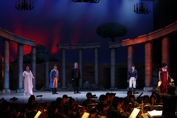 京都オペラ協会定期公演モーツァルト作曲「皇帝ティートの慈悲」2017年6月25日