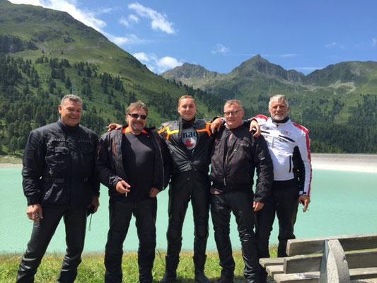 Motorradtour nach Sölden