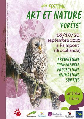 """Festival Art et nature """"Forêts"""" Paimpont 2020"""