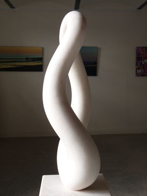 1 Element, 2013, Marmor Estremoz Branco, 165 x 36 x 27 cm
