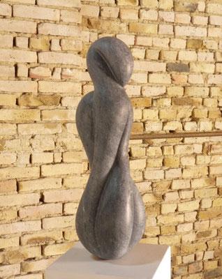 Sem Título I, 2016, Mármore Ruivina, 65 x 20 x 17 cm