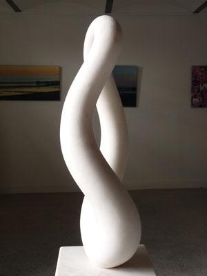 1 Elemento, 2013, Mármore Estremoz Branco, 165 x 36 x 27 cm
