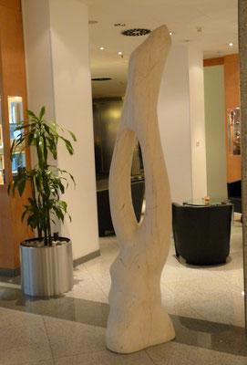 Raizes, 2001, Marble Estremoz Creme, 220 x 50 x 47 cm