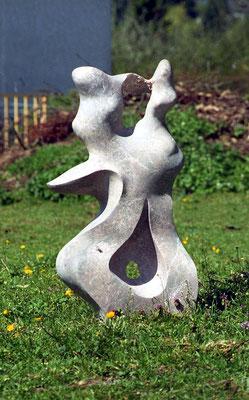 Ohne Titel, 1997, Marmor Brecha, 87 x 45 x 22 cm