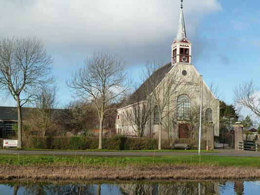 Eine Kirche in Sint Maartensbrug