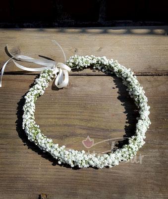 Blumenkranz, Hochzeitsfloristik, Petite Fleur