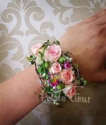 Blumen, Armband, Hochzeitsfloristik, Petite Fleur