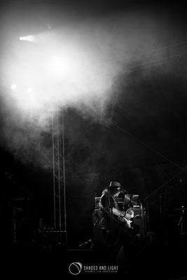 Adi Bărar (chitarist la Cargo) - in concert la Open Air Blues Festival Brezoi, Valcea editia 2017