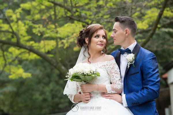 Fotografie de nunta in parc
