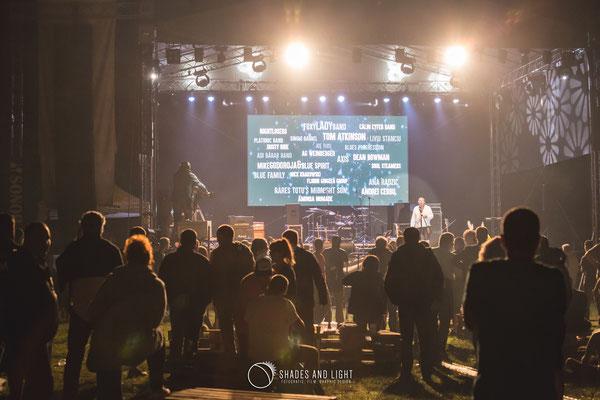 Pubic la concert Open Air Blues Festival Brezoi, Valcea editia 2017
