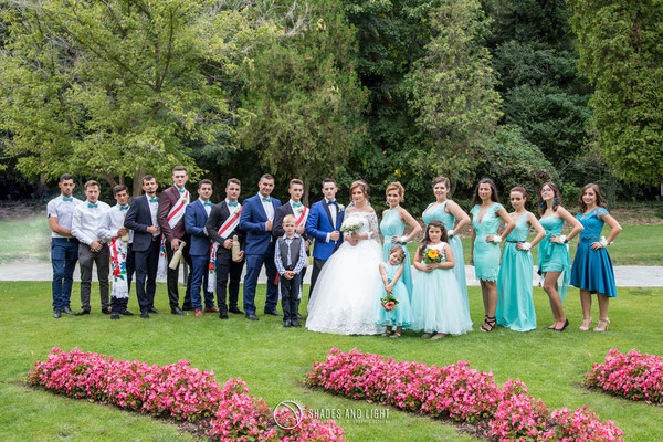 Fotografie de nunta in parc Calimanesti - grup