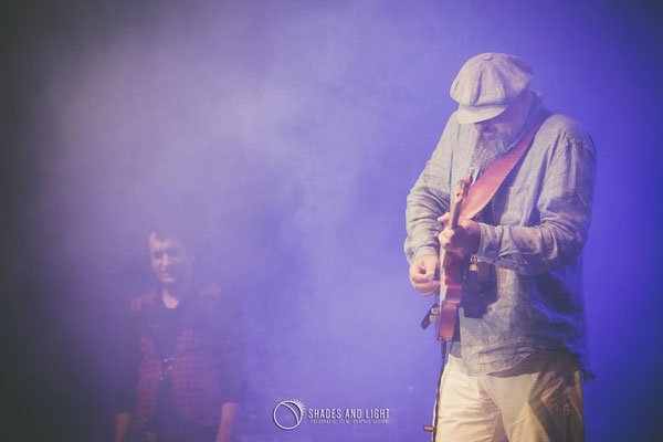 A. G. Weinberger - voce, chitara - in concert la Open Air Blues Festival Brezoi, Valcea editia 2017