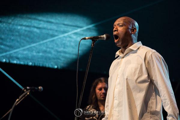 Dean Bowman ( Solo Black Spirituals) in concert la Open Air Blues Festival Brezoi, Valcea editia 2017